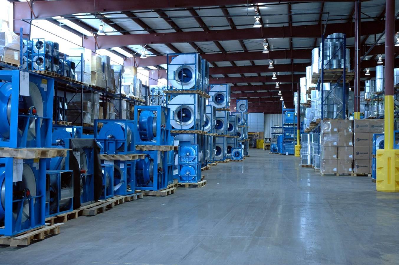 Comefri USA - Finished Products Warehouse