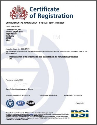 how to get iso 14001 certification