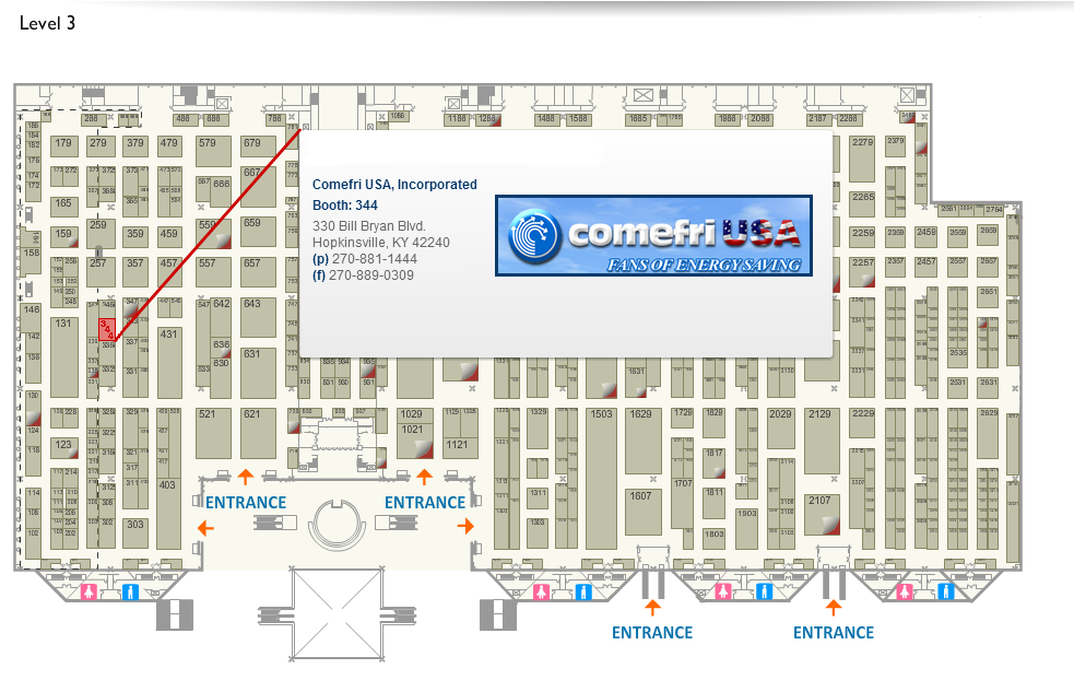 Ahr Expo 2014 January 21 23 The Jacob K Javits Convention Center Of New York on Las Vegas Floor Plans