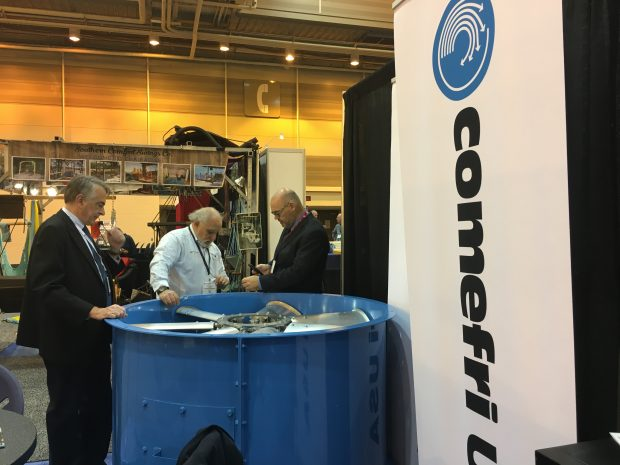 Comefri at International WorkBoat 2017