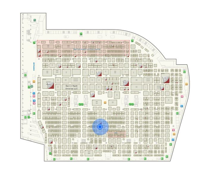 Ahr expo 2018 january 22 24 chicago comefri usa for Interactive floor plan map