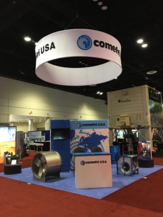 Comefri stand at AHR Expo 2020